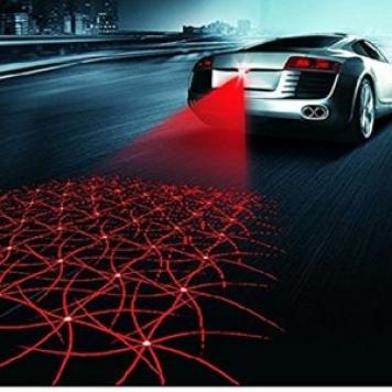 Car Styling Laser Anti Collision Rear-end 12v Led Car Fog Light Warning Light Car Tail Brake Light Parking Light Car Accessories