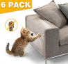 Furniture Protectors from Cats Couch Shield for Cats Furniture Scratch Guards for Sofa Door Wood Furniture 6 Packs