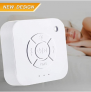 White Noise Machine Aiugko Sleep Machine with Baby Soothing Night Light 9 Relaxing Nature Sounds Baby Shusher Sleep Sound Machine Portable Sleep Therapy Machine for Travel Home Office Relaxation